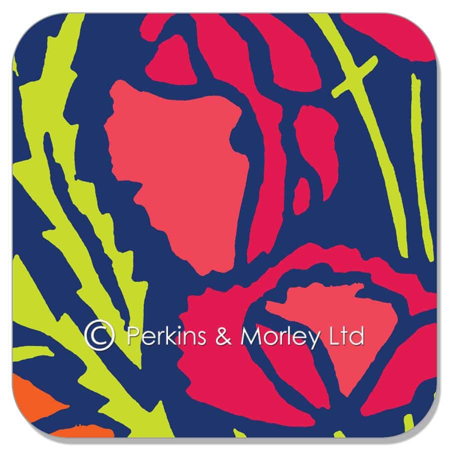 J2FF5C-Poppies-coaster-shadow-web