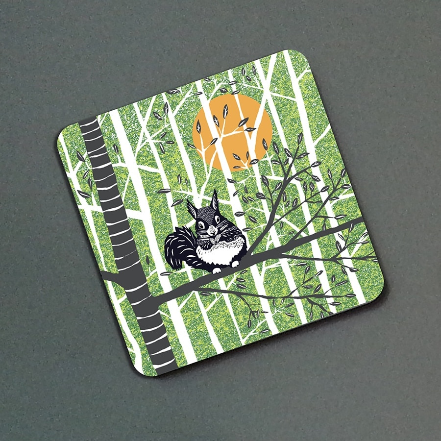 J2WILDER12greenF-Squirrel-green-fridge-magnet-photo-web
