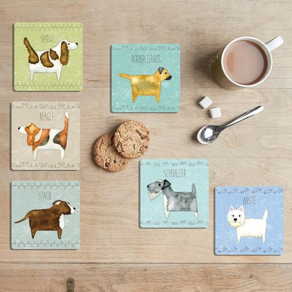 Scratch & Sniff coasters