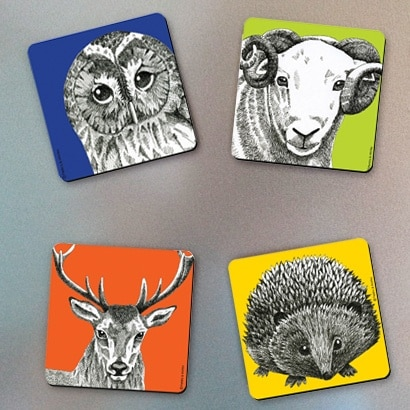 Melamine Fridge Magnets