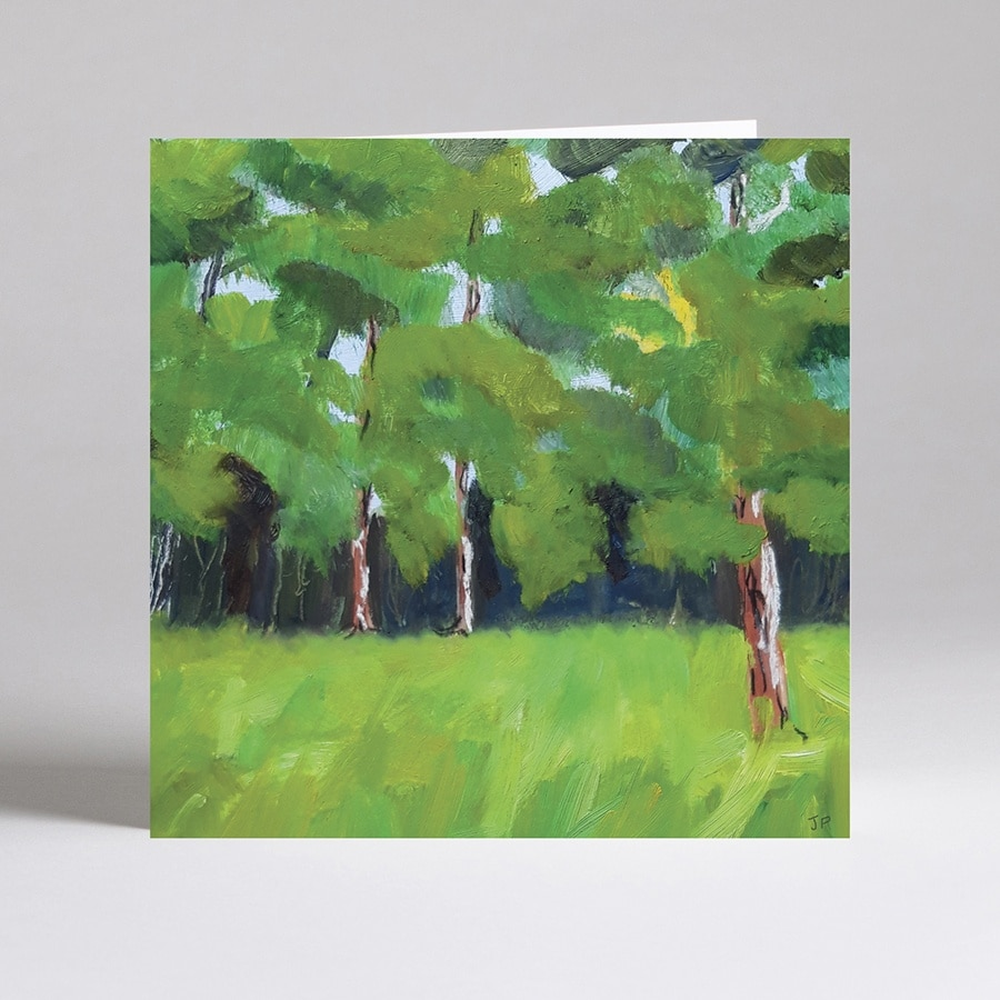 Summer Trees card