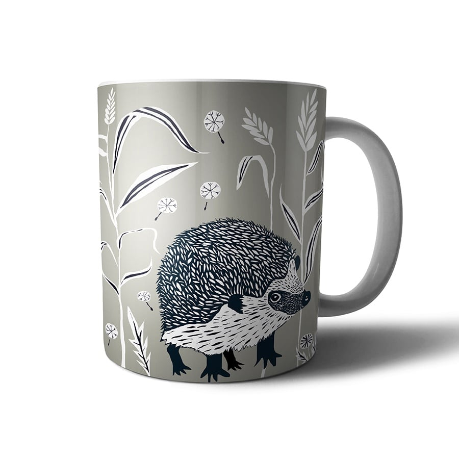 Hedgehog mug - WILDER range