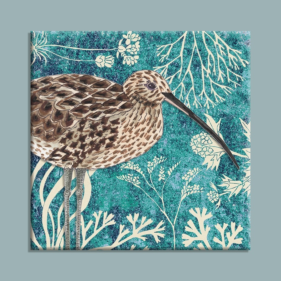 Wild Wood Curlew canvas print