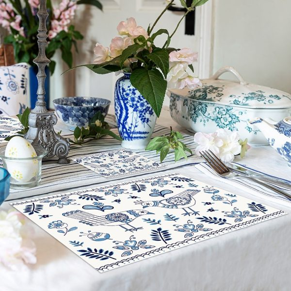 Delft tablemats